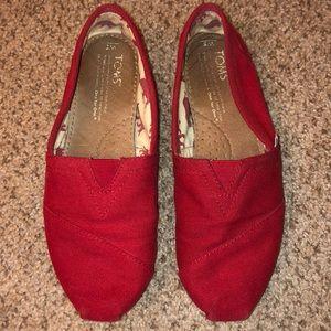 Classic Toms Canvas Shoes size 5